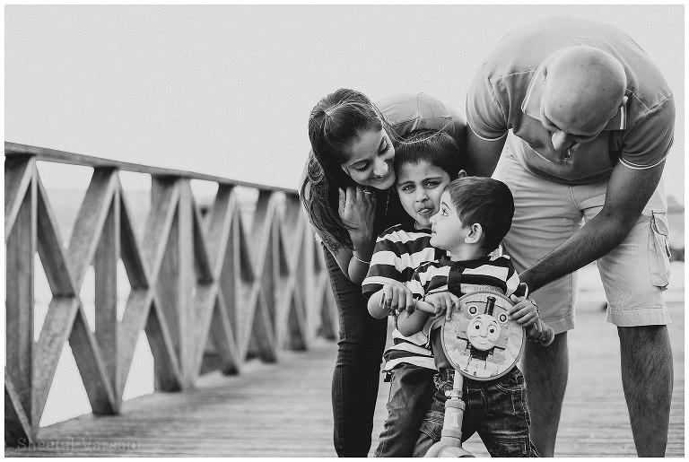 Varsha & Vijay Family Portrait Shoot | Sheetal Varsani