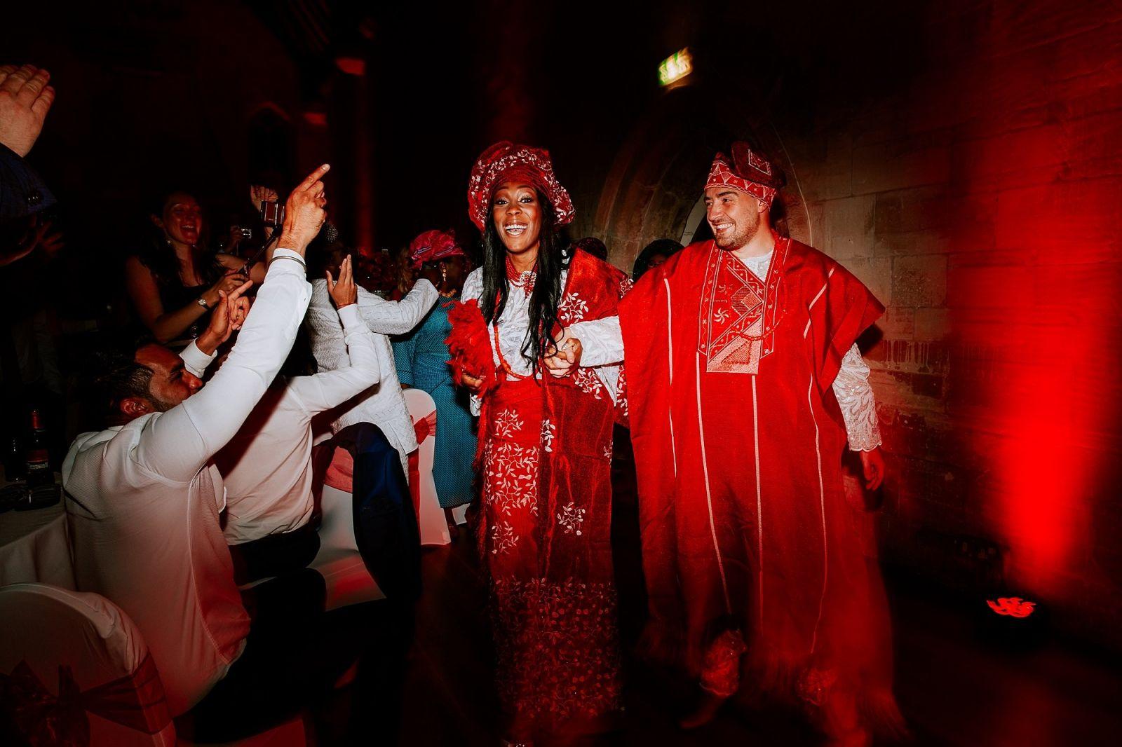 Nigerian Fusion St Donats Castle Wedding Cardiff South Wales Photographer Sheetal Varsani