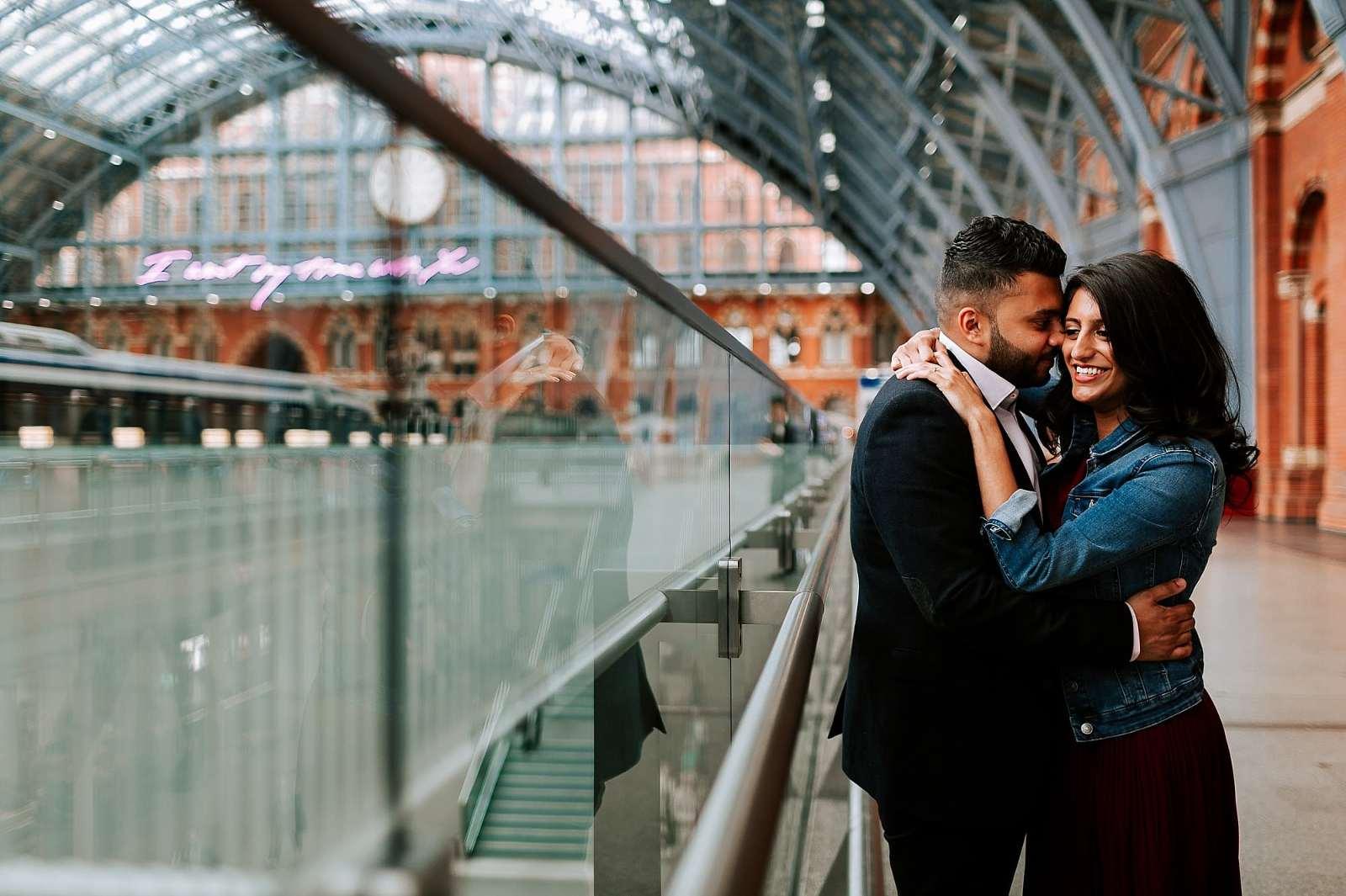 Central London PreWedding Engagement Asian Wedding Photographer Sheetal Varsani