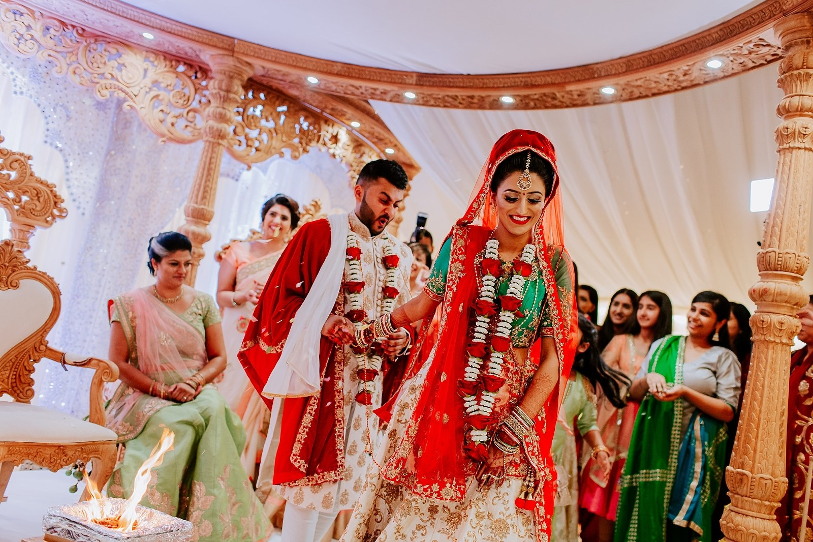 London Fennes Estate Asian Wedding Photographer Sheetal Varsani