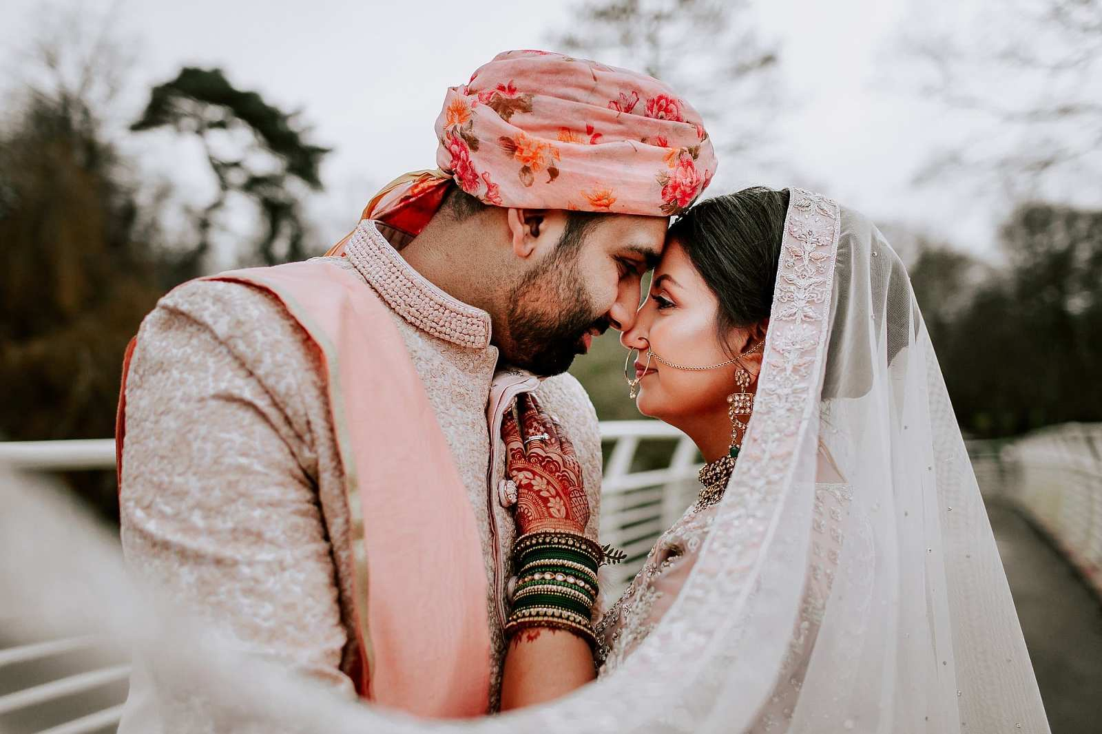 Bute Park Cardiff Hindu Wedding Photographer Sheetal Varsani