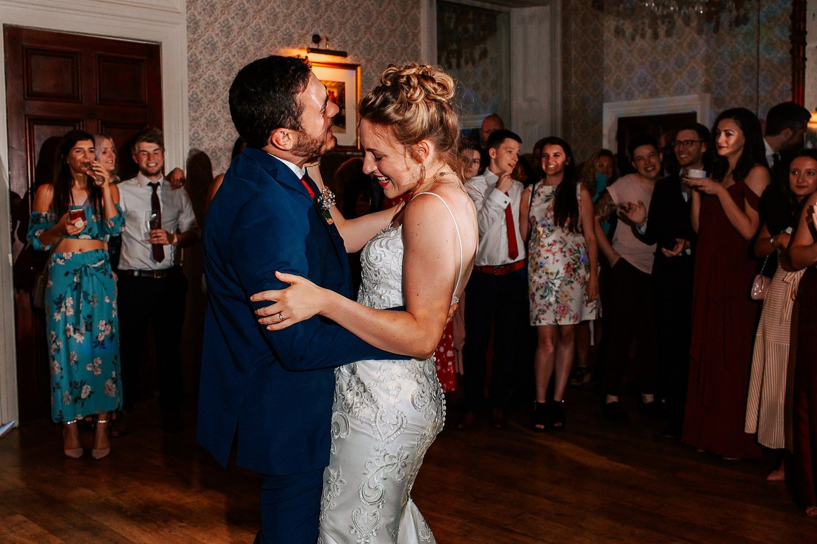 First Dance Limpley Stoke Hotel Wedding Bath Photographer Sheetal Varsani