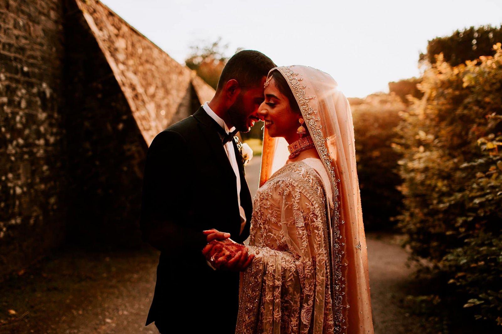 Margam Orangery Asian Arab Fusion Wedding Shazeena Mohannad Sheetal Varsani Photography